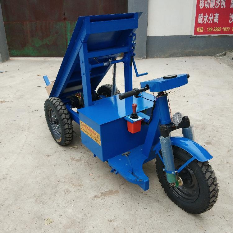 协丰机械 建筑工地新型拉砖专用车 工程电动拉砖车厂家 电动骑行拉砖车价格