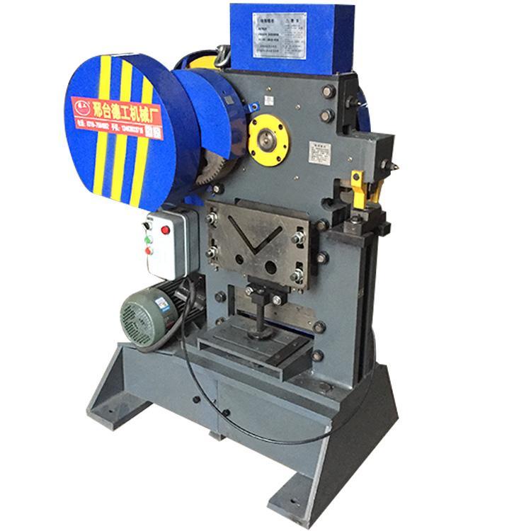 重型扁铁剪切机 大型方钢截断机 钢结构角铁冲孔机