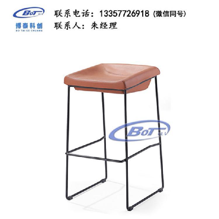 厂家直销 铁艺吧椅 实木吧椅 吧台椅 酒吧椅 高脚椅 不锈钢吧椅 定制原木软包椅子SM-10