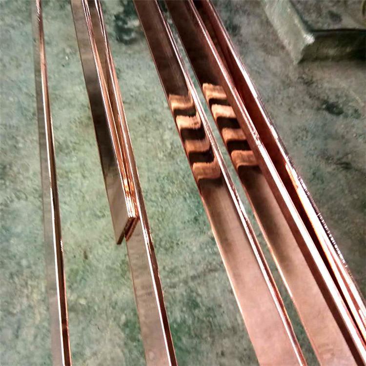 长期供应镀铜扁钢 铜覆钢扁钢 大量库存