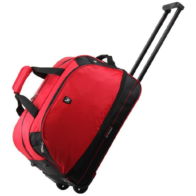 上市公司厂家直销尼龙印花包包 旅游手提包 大容量行李包