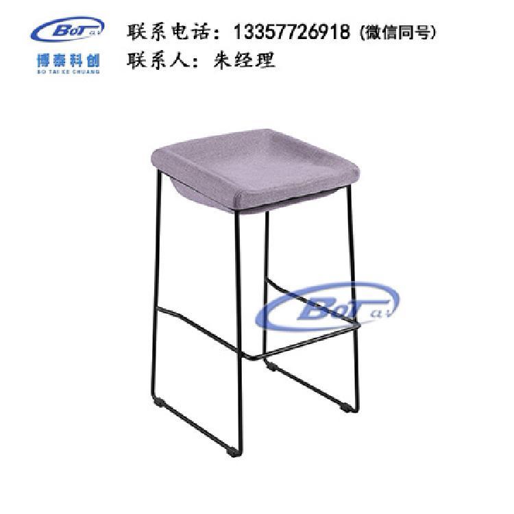 厂家直销 铁艺吧椅 实木吧椅 吧台椅 酒吧椅 高脚椅 不锈钢吧椅 定制原木软包椅子SM-11