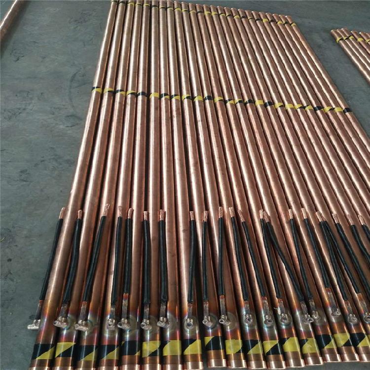 河北拓达长期供应 铜包钢离子接地极 风力发电基础 电解离子接地极