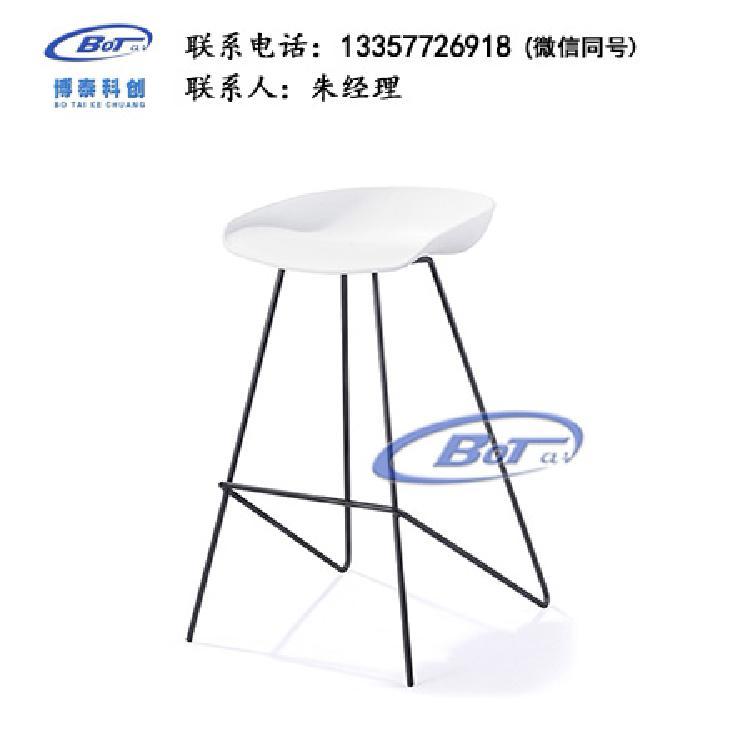 厂家直销 铁艺吧椅 实木吧椅 吧台椅 酒吧椅 高脚椅 不锈钢吧椅 定制原木软包椅子SM-16