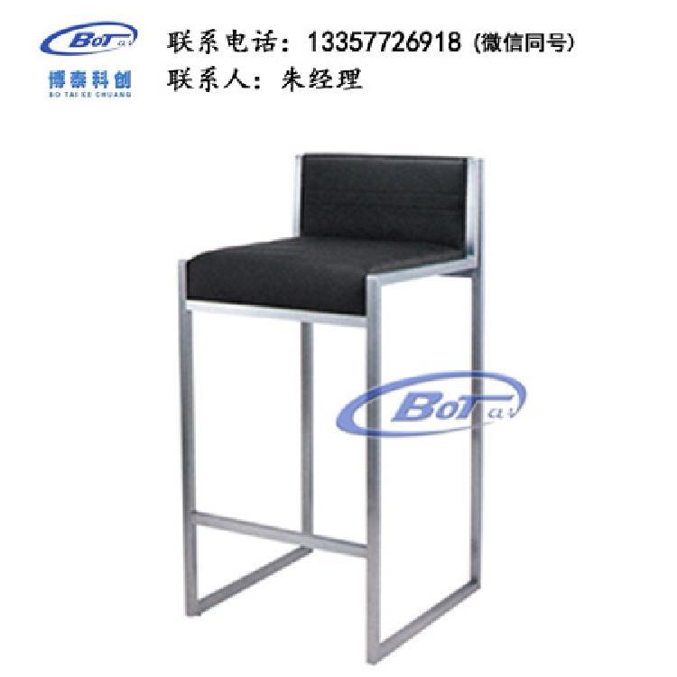 厂家直销 铁艺吧椅 实木吧椅 吧台椅 酒吧椅 高脚椅 不锈钢吧椅 定制原木软包椅子SM-01
