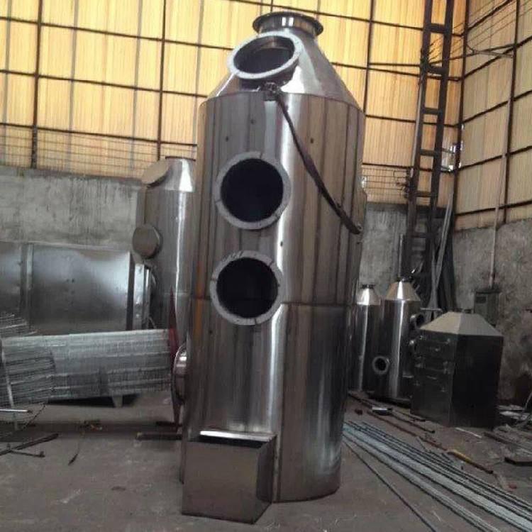 晟驰厂家直销环保设备洗涤塔废弃处理设备 喷淋塔旋流酸雾净化器 工业不锈钢喷淋塔喷漆