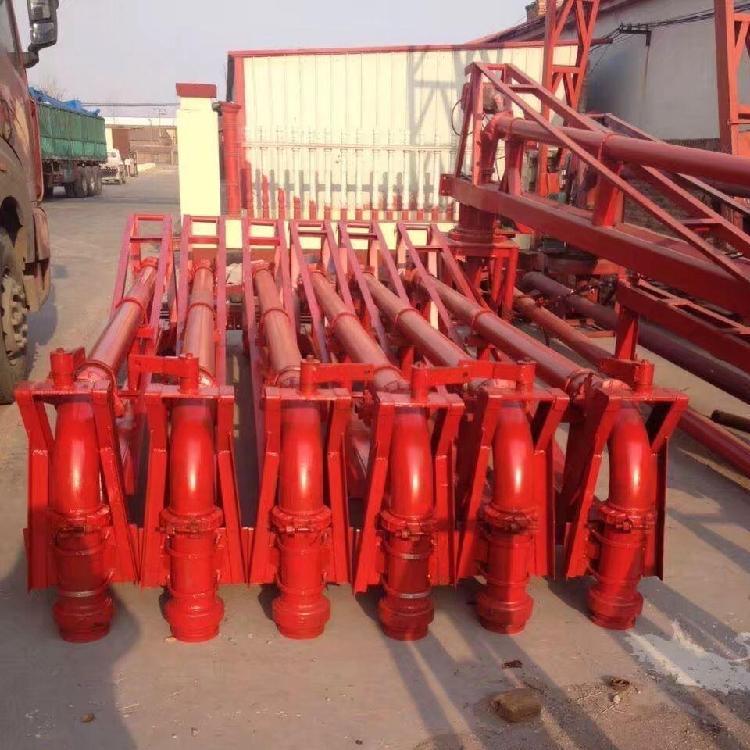 12米布料机 15米布料机 胶管 耐磨弯头 泵管