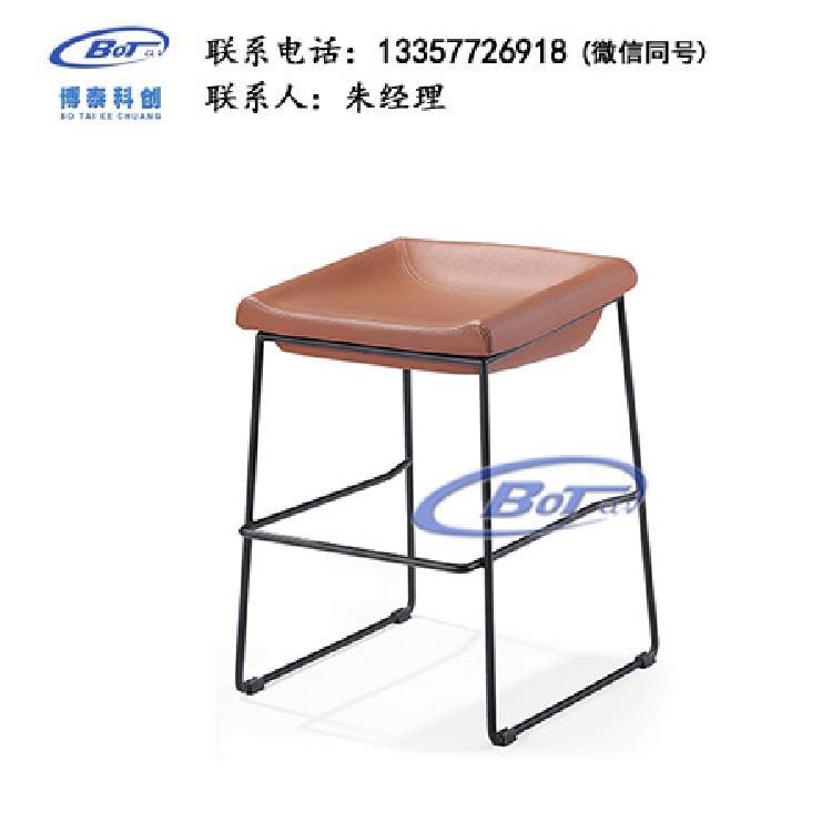 厂家直销 铁艺吧椅 实木吧椅 吧台椅 酒吧椅 高脚椅 不锈钢吧椅 定制原木软包椅子SM-09