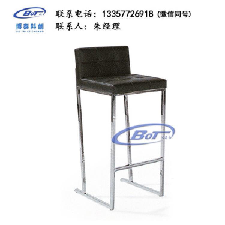 厂家直销 铁艺吧椅 实木吧椅 吧台椅 酒吧椅 高脚椅 不锈钢吧椅 定制原木软包椅子SM-08