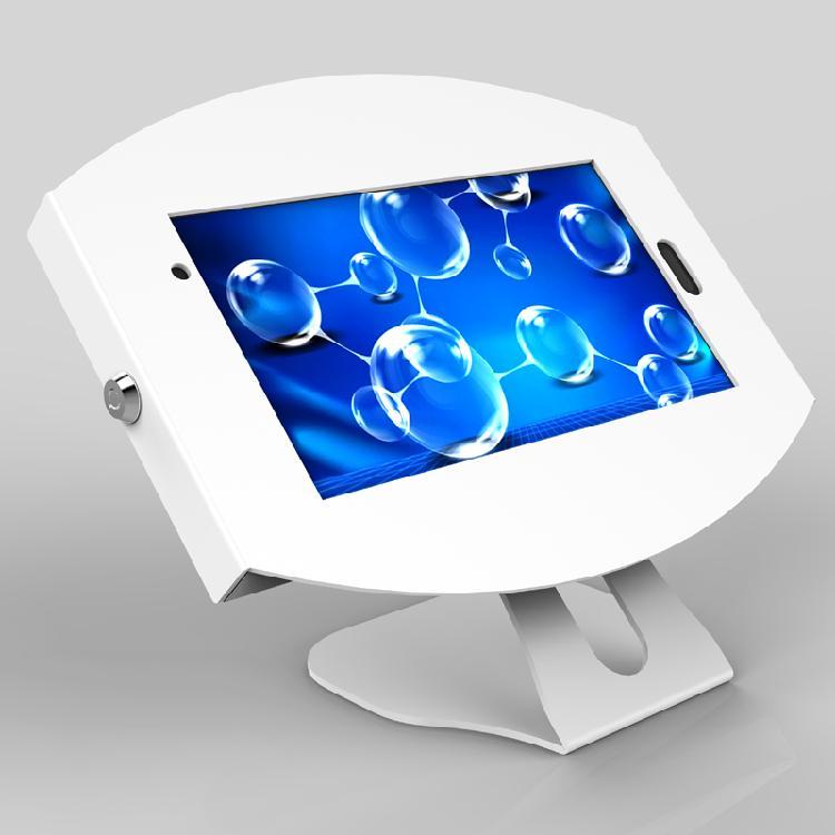 泰如电子新品上市厂家直销黑白通用桌面固定支架金属防盗平板电脑支架