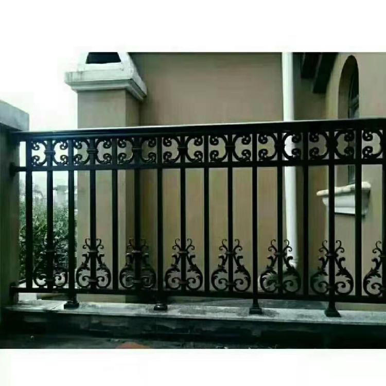 直销豪华阳台铝艺护栏自建房院子围栏简约铝艺护栏