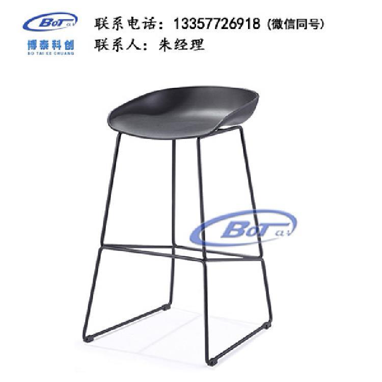 厂家直销 铁艺吧椅 实木吧椅 吧台椅 酒吧椅 高脚椅 不锈钢吧椅 定制原木软包椅子SM-12