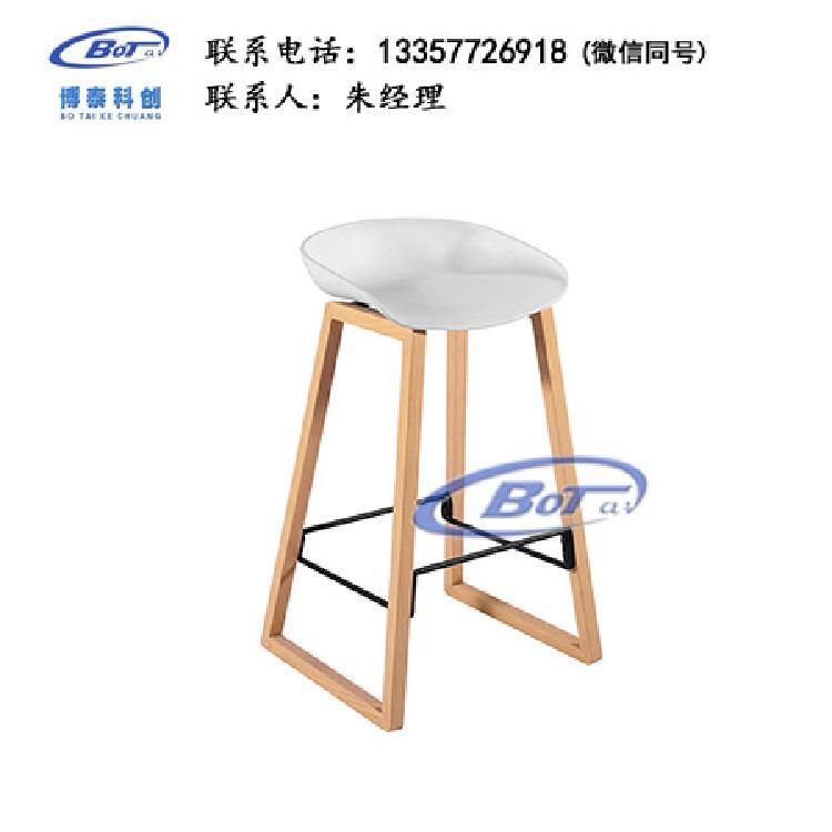 厂家直销 铁艺吧椅 实木吧椅 吧台椅 酒吧椅 高脚椅 不锈钢吧椅 定制原木软包椅子SM-17