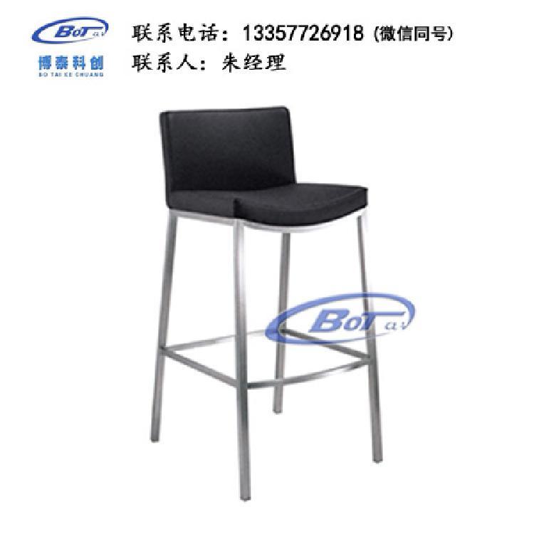 厂家直销 铁艺吧椅 实木吧椅 吧台椅 酒吧椅 高脚椅 不锈钢吧椅 定制原木软包椅子SM-06