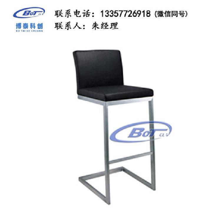 厂家直销 铁艺吧椅 实木吧椅 吧台椅 酒吧椅 高脚椅 不锈钢吧椅 定制原木软包椅子SM-05