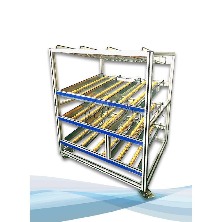 南京仓库车间用铝型材物料流利条货架