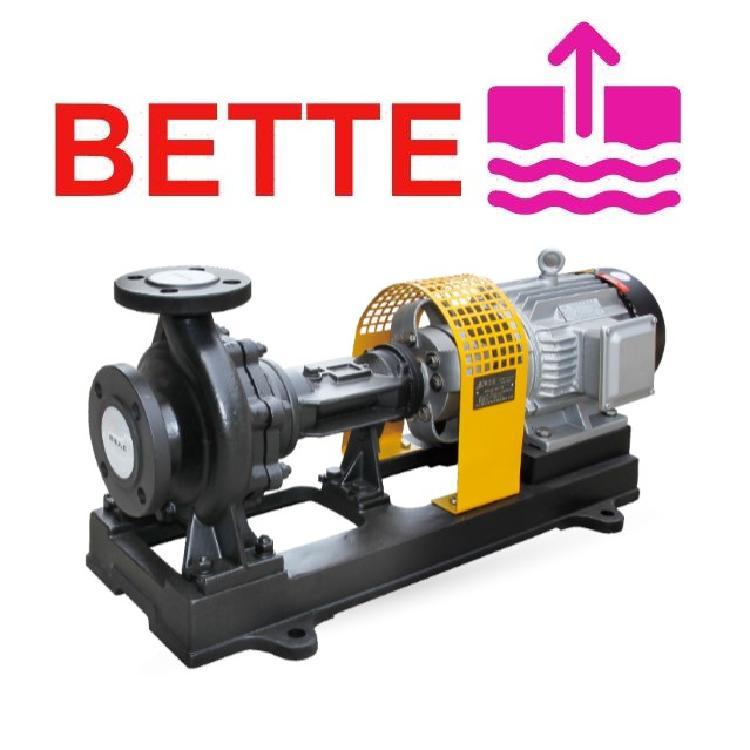 德国BETTE贝特导热油泵