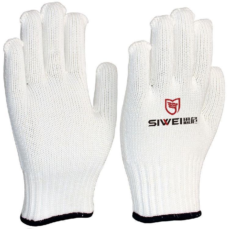 厂家生产劳保棉纱针织手套 耐磨防护棉线手套劳保用品