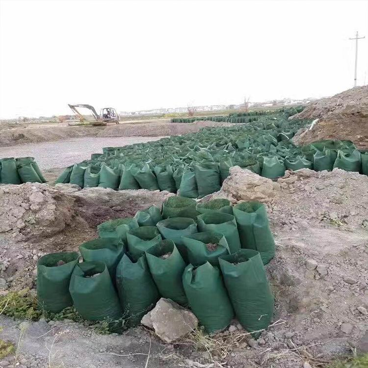 云南纭慷生态袋 型号:80x40,用于河流两岸 矿山 复绿 人工湿地 道路护坡 矿山复绿 园林艺术等