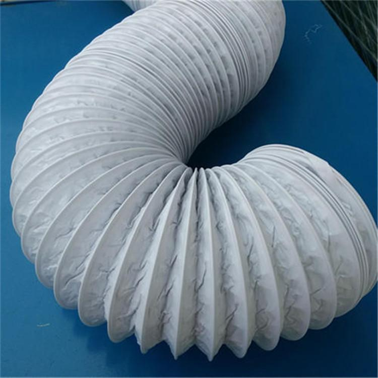 实力厂家专销帆布防尘伸缩软管 加工钢丝伸缩软管 质量保证
