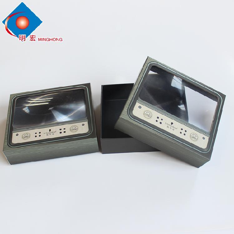 定制通用牛皮纸盒 彩印手提化妆品礼品盒 瓦楞纸包装盒定做批发