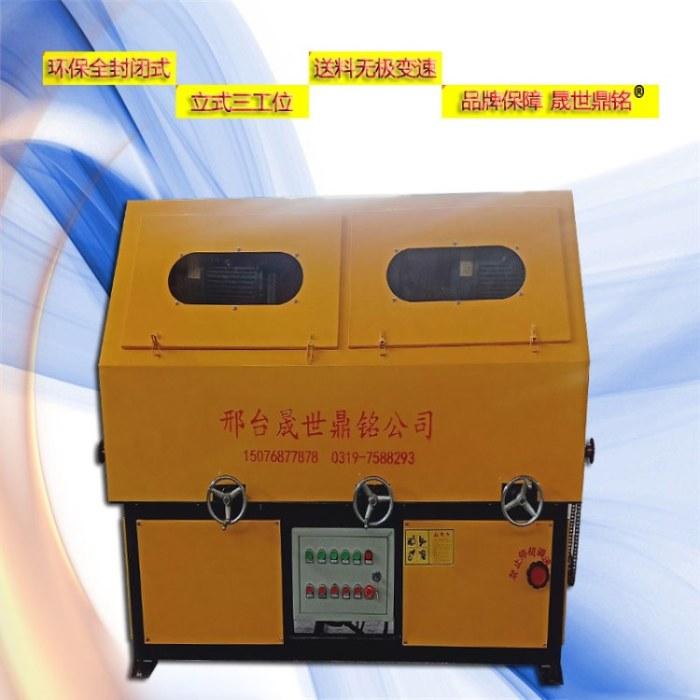 江苏无锡圆管方管抛光机 多工位外圆抛光机多少钱一台