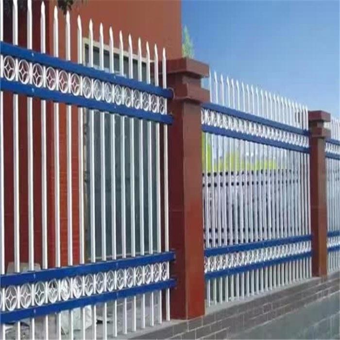 【万千】  锌钢围栏  学校防攀爬栏杆  小区插拔绿化护栏  手续齐全 值得信赖