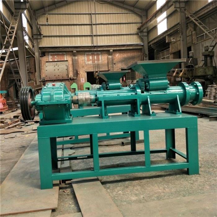 腾航煤粉制棒机 木粉锯末挤棒成型机设备 碳粉煤棒机