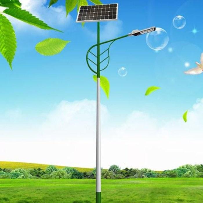 临沂绿森太阳能路灯厂家供应全国新农村建设6米太阳能路灯