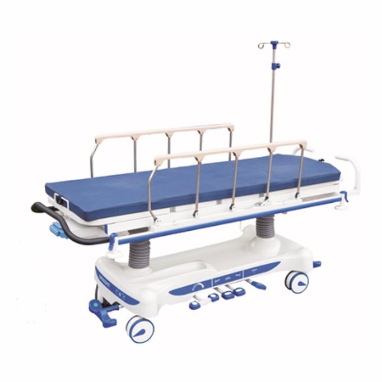 成都铝合金医用平车,医院病人转运车,医用病床生产厂家 品质保证
