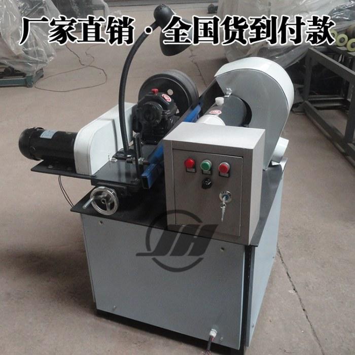 锦航 高精度管抛光机 不锈钢外圆抛光机 天然气圆管除锈机