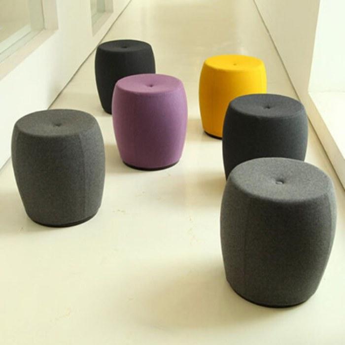 办公家用休闲沙发凳 异形软包坐凳  商场软体沙发凳