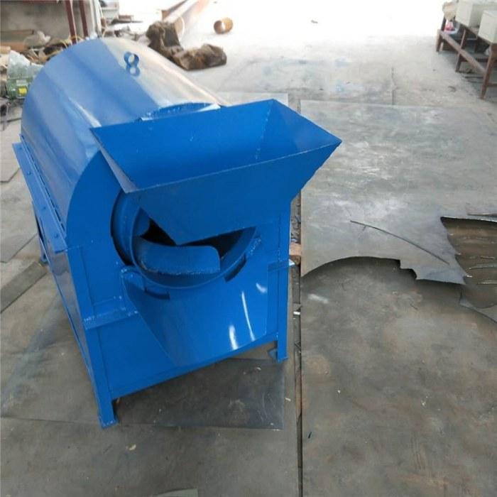 煤柴不锈钢瓜子炒货机 小型家用油坊滚筒炒锅