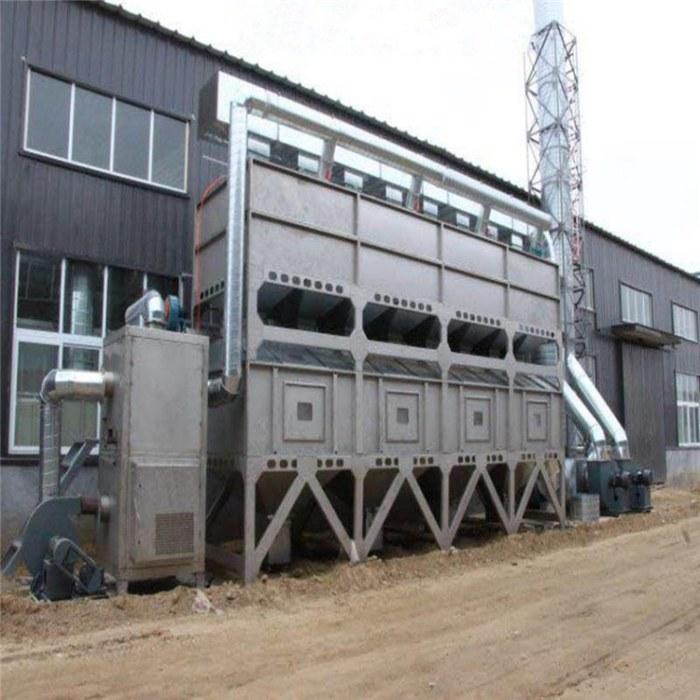催化燃烧废气处理设备 RCO废气净化设备 除味除油烟设备催化燃烧活性炭吸附装置