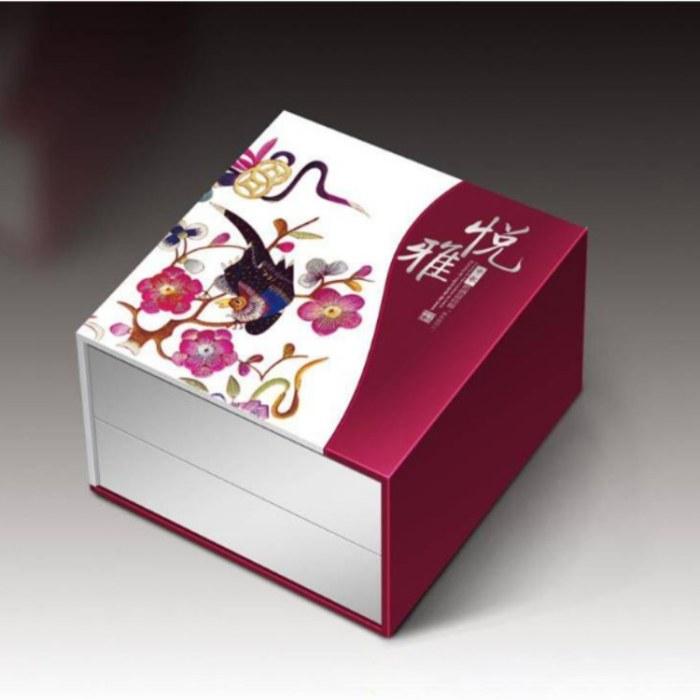 包装盒 高端礼盒定制 精装卡书 月饼盒