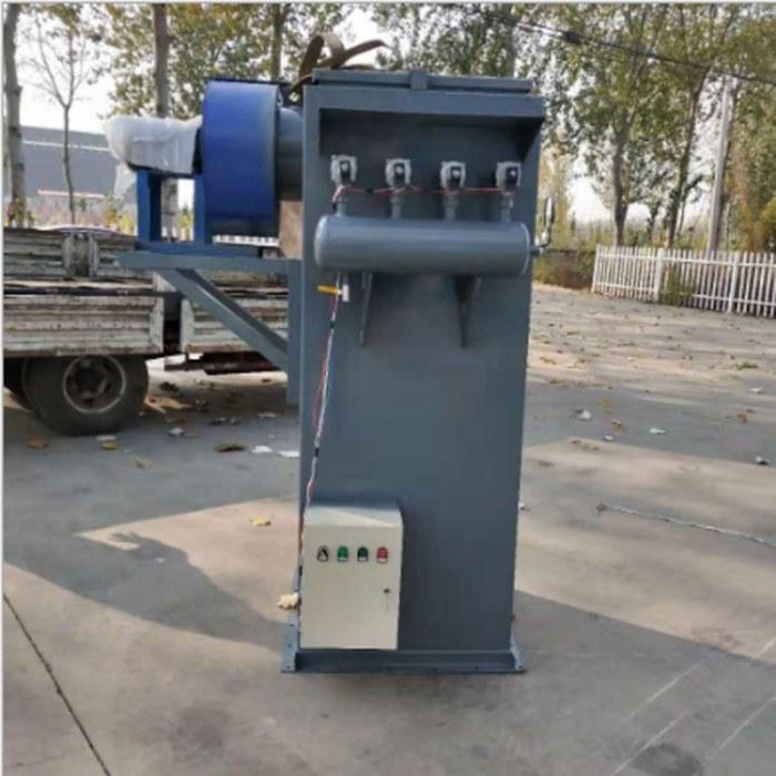 荣信锤式破碎机布袋除尘器 PPC128-2*4气箱脉冲除尘器 MC-96收尘器