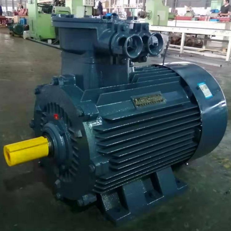 江苏高科隔爆电机 YB3-280S-6 45KW防爆电机 双出线孔 YB3系列隔爆型三相异步电动机