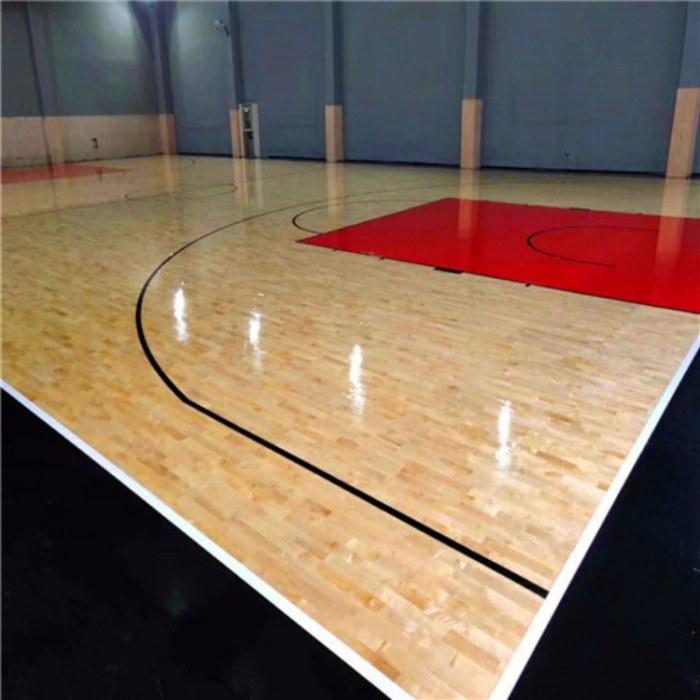 健身房体育木地板 篮球馆体育地板