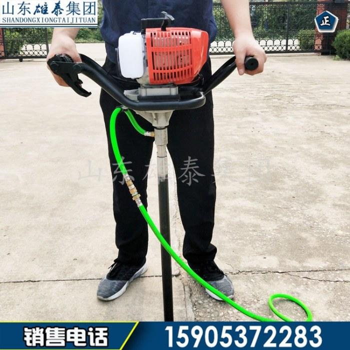 单人背包地质勘探设备 马路取芯便携式钻探机 汽油轻便大量供应