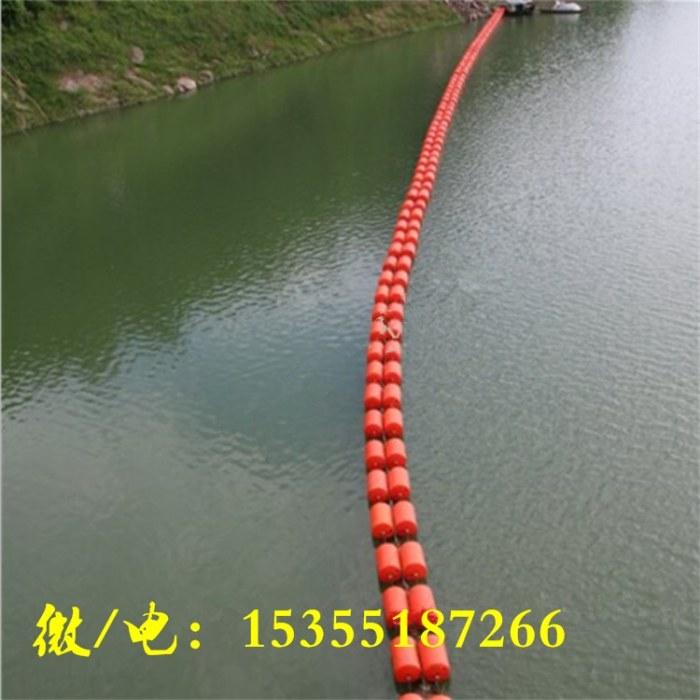 水源地環境保護浮筒 河道垃圾攔截攔污索_攔河網浮體廠家批發