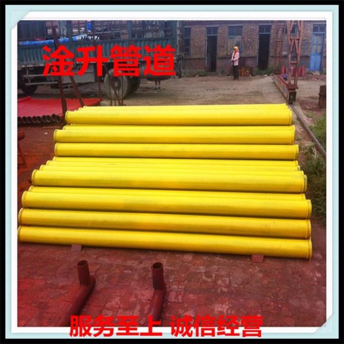 淦升管道 低压泵管服务商 优选材质的3米高压 无缝 直缝 双层耐磨泵管用途广泛