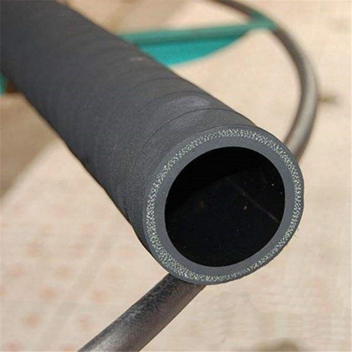 订做光面高压橡胶水管 喷砂机专用耐磨喷砂管  耐磨抗压夹布喷砂橡胶软管