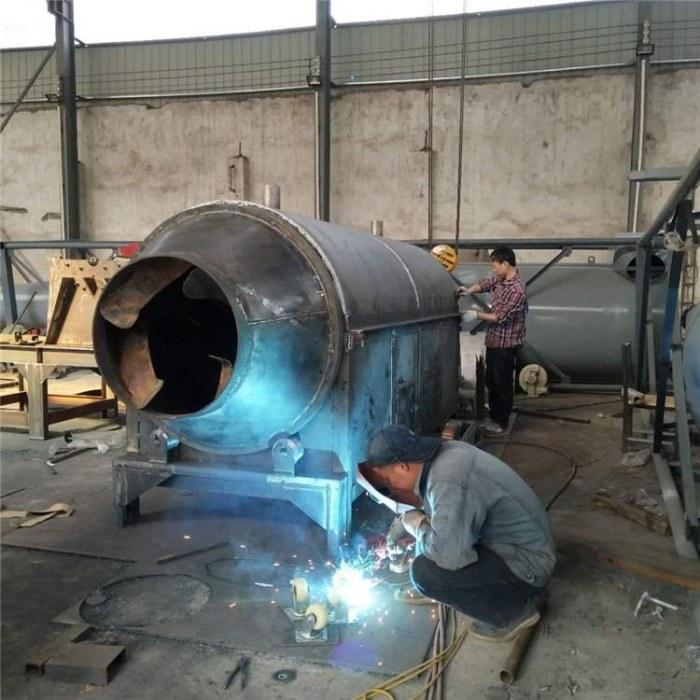煤炭加热滚筒炒料机 燃气加热炒货机 全自动干果瓜子炒货机