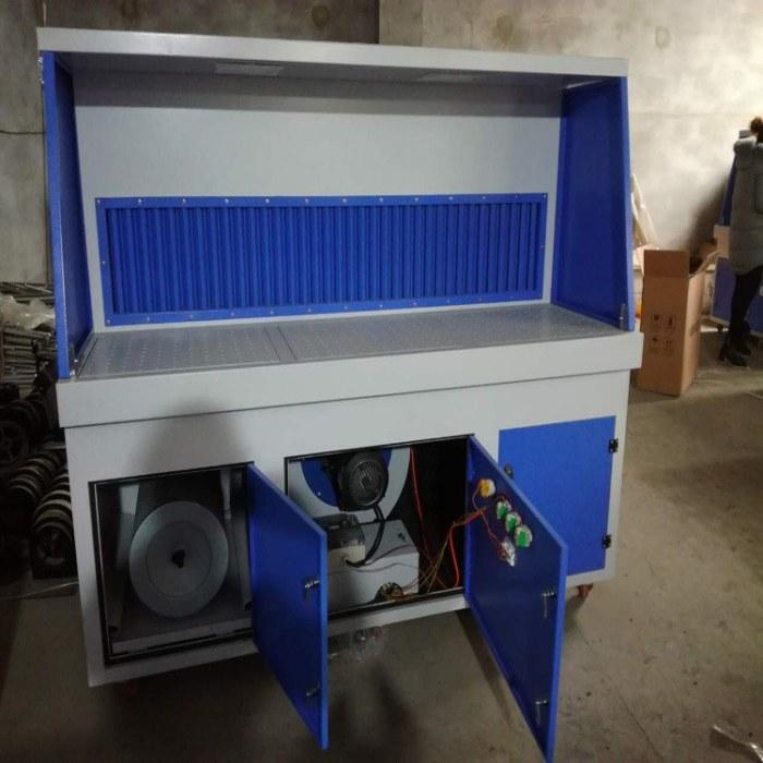 荣信厂家直销打磨抛光除尘工作台 废气处理设备 打磨抛光除尘器可定制