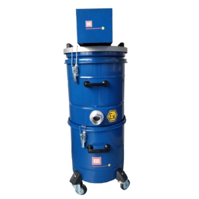 意大利 RIBO COMPAIR281/250 气动防爆工业吸尘器  吸取液体和尖锐的油屑混合物