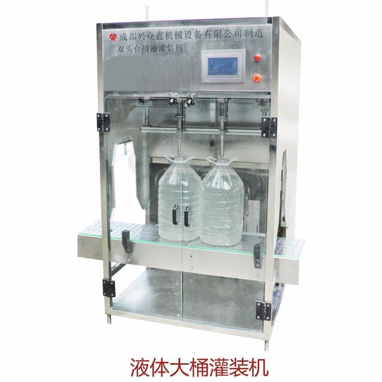 四川灌装机 兴众鑫机械设备 专业供应全自动桶装灌装机  饮料生产机械设备