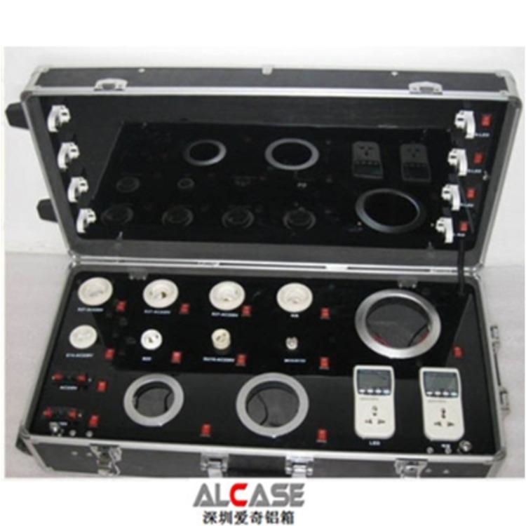 深圳爱奇厂家直销航空箱 LED展示箱 led灯具测试箱 支持订做