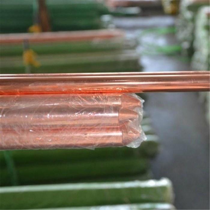 渭南铜包钢接地极 60*6镀铜扁钢 力新现货