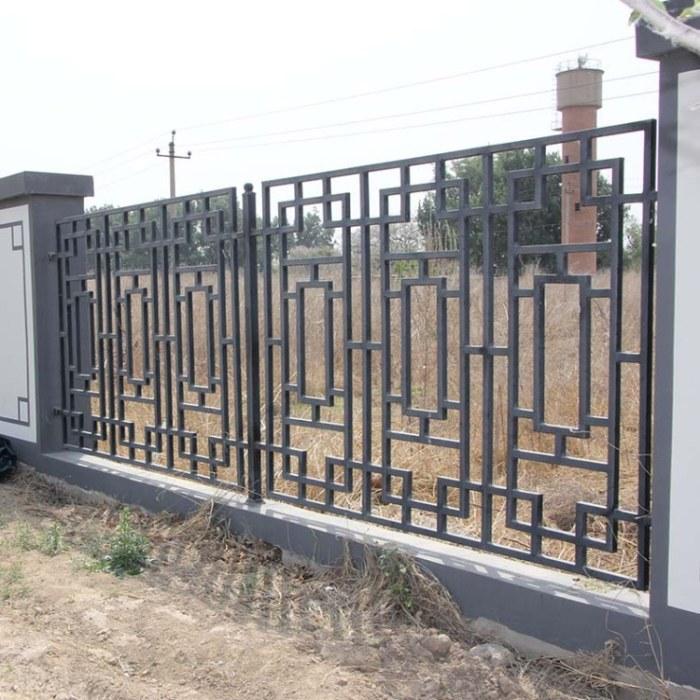 铁艺护栏湘潭铁艺护栏小区市政围墙围栏安平丝网陆昂厂家生产定制