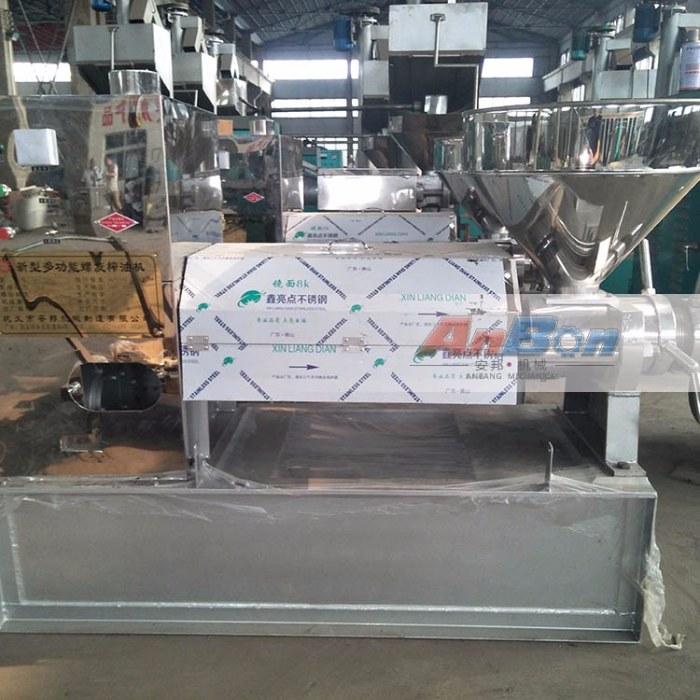 大型棉籽榨油机 液压榨油机设备